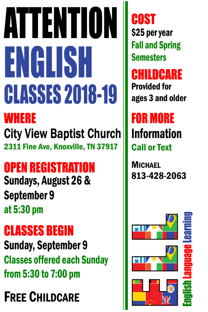 English Classes at City View